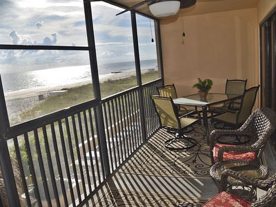 Beautiful direct beach front views are yours!
