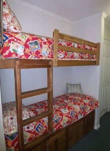 Kids just love these bunk beds!