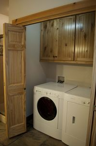 Another view of Washer and Dryer Section