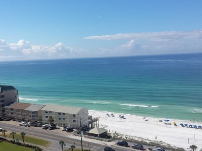 Spectacular unobstructed view of the beach and ocean!