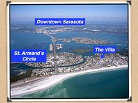Walk to Lido Beach and St. Armands!