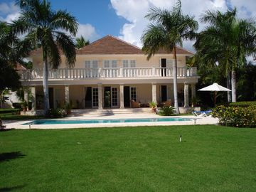 Punta Cana villa rental - Villa from the golf course