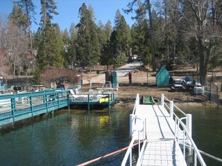 Lake Arrowhead house photo - Dock site