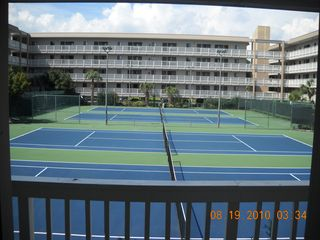 Folly Field condo photo - Tennis Courts (Balcony view)