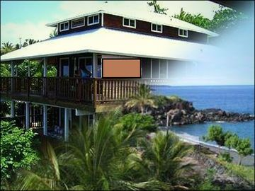 Captain Cook house rental - Award- winning home with sweeping ocean views!