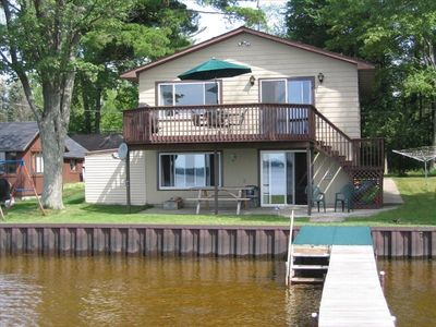 Cadillac house rental - waterfront, deck, dock, firepit, picnic table