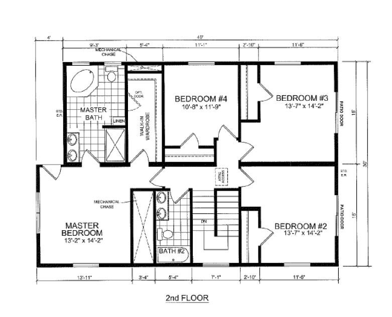 So Heavenly  S  Beach Home   BR  BA       HomeAway South HavenHouse Plans  second floor