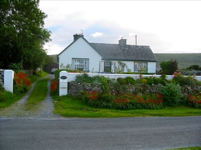 Our cottage on Coast Rd., a 10 min. walk to Monk's Pub