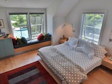 Master Bedroom Features Second Floor Wing With Full Bath & Office/Study