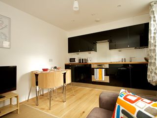 City of London apartment photo - The Open Kitchen & Lounge