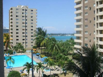 Ocho Rios apartment rental - View from the balcony