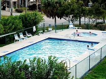 Condo Complex Pool and Hot Tub for Guests - just steps from your door!
