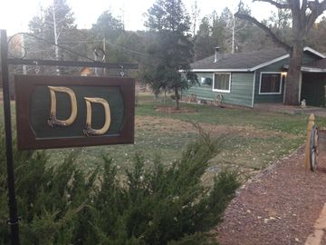 Strawberry cabin rental - Welcome to the 'Double D'