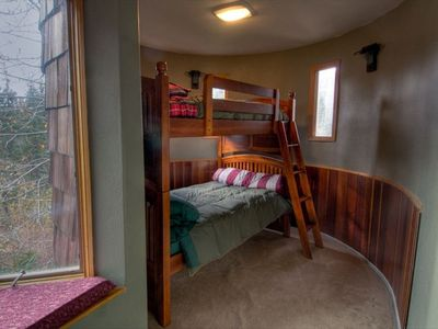 Child Bunk Beds on main floor.