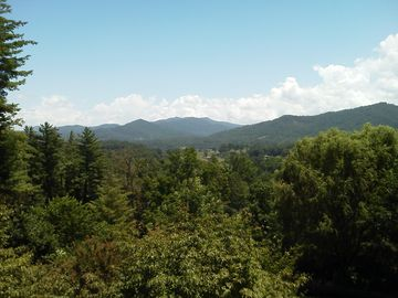 Wonderful long range views of Mt Pisgah