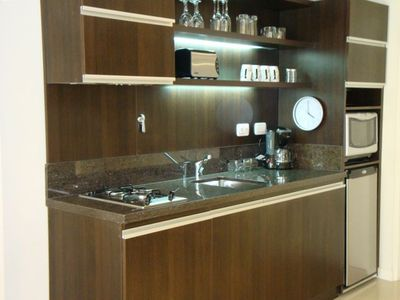 Nicely equipped and modern kitchen