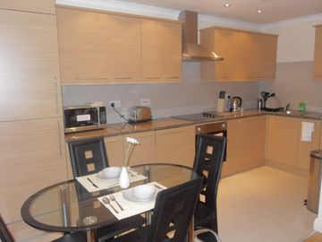 Kitchen of 1 bedroom apartments