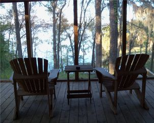 Lake Seminole house photo - View from screened porch