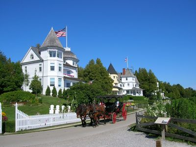 Mackinac Island is only 35mi away