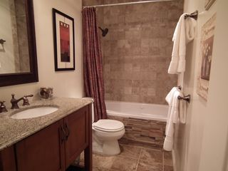 Park City condo photo - Renovated bath with whirlpool tub