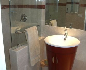 Fresh and Modern Bathroom No. 3 - Compare THIS to Other Homes