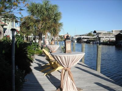 Vacation Homes in Holiday Isle Destin house rental - Dockside elegance...ready for guests!