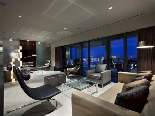 suite athlete celebrity owned penthouse suite atop las