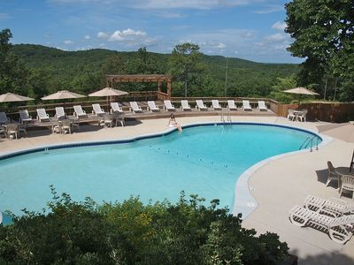Mountain Top Inn spring-fed swimming pool