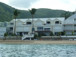Grand Case apartment photo - Building from the sea