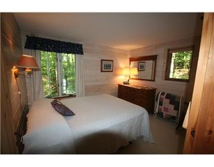 Casco cottage photo - First floor master bedroom with queen bed