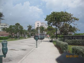 Deerfield Beach condo photo - View of Famous 1.5 mile boardwalk in front of condo building