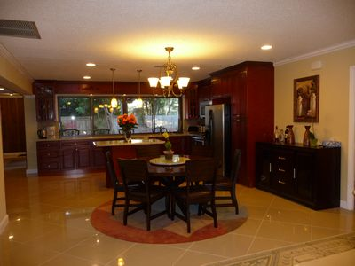 Lauderdale-by-the-Sea house rental - Dining Room/Kitchen Area