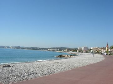 Cagnes-sur-Mer studio rental - Beach within a three minute walk