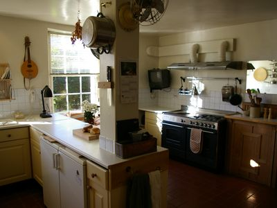 Large country kitchen / dining room