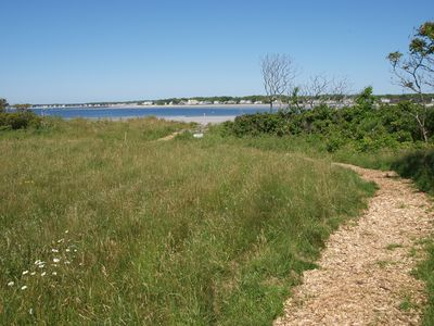 Just so nice, run or walk this trail or enjoy the ocean or bird watching.