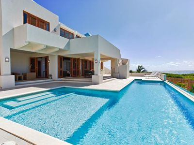 Villa RIC WHI - Located on the south coast in the Long Pond area, this villa was completed in 2010 to take advantage of the ocean views.