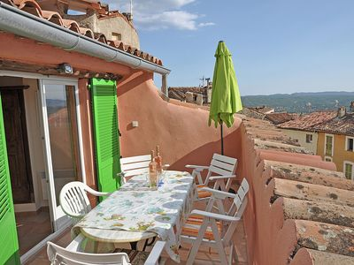 Luxury townhouse in center of Fayence in the middle of Provence, close to the sea
