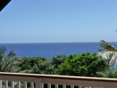 Roatan villa rental - View from deck