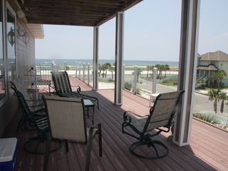 Pensacola Beach house photo - Breathtaking views of the Gulf and Sound from the 3rd level wrap around decks.