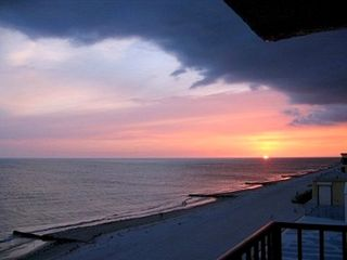 Madeira Beach condo photo - Gorgeous sunsets from the balcony