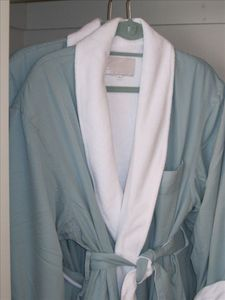 Our Luxurious Amenities include Spa Robes in Every Closet!