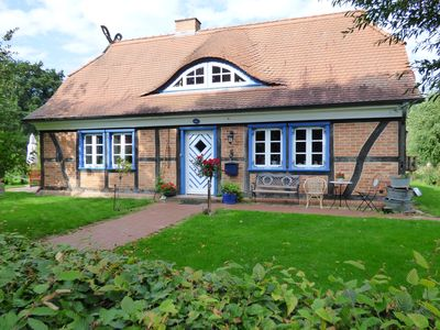 Beautiful half-timbered house for 2 max. 7 Pers. in the Brandenburg Elbtalaue