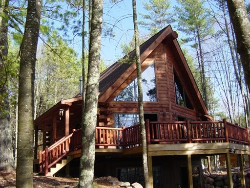 New Log Cabin Fully Loaded with Amenities