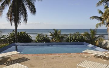 Vieques Island house rental - Pool View