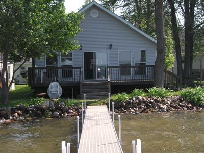 Duck Lake-Home with Great Sandy frontage!
