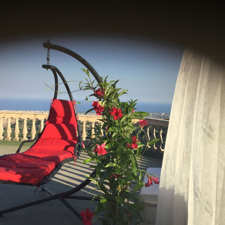 mediterranean villa on the outskirts of the historical marvel  Gerace