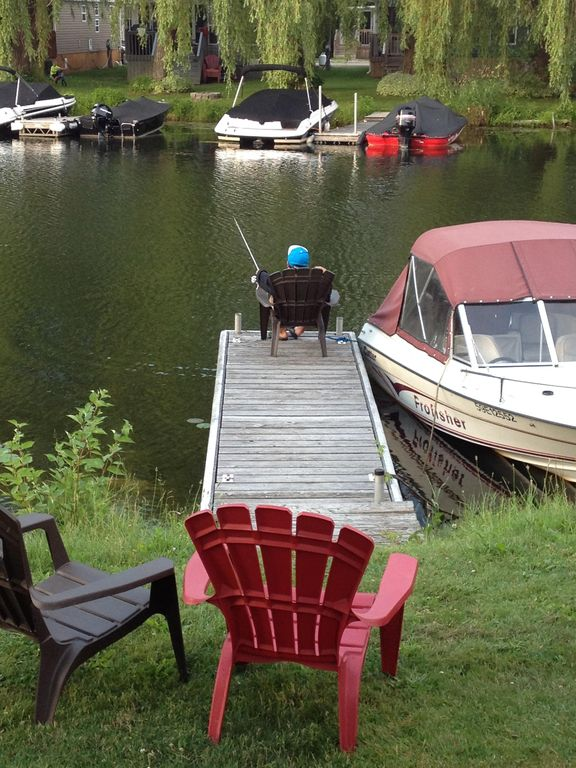 Waterfront Two Bedroom Cottage For Rent