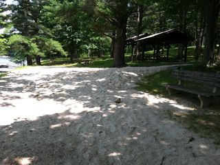 Swanton cabin photo - Neighborhood Sandy Beach at Swim Docks