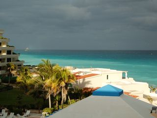 Cancun condo photo - At sunset