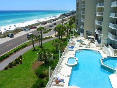 Majestic Sun condo rental - View/Pools